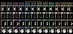 Anglo-Saxon Moon Calendar 2013-2014