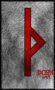 Runa Þorn Thorn Thrurisaz