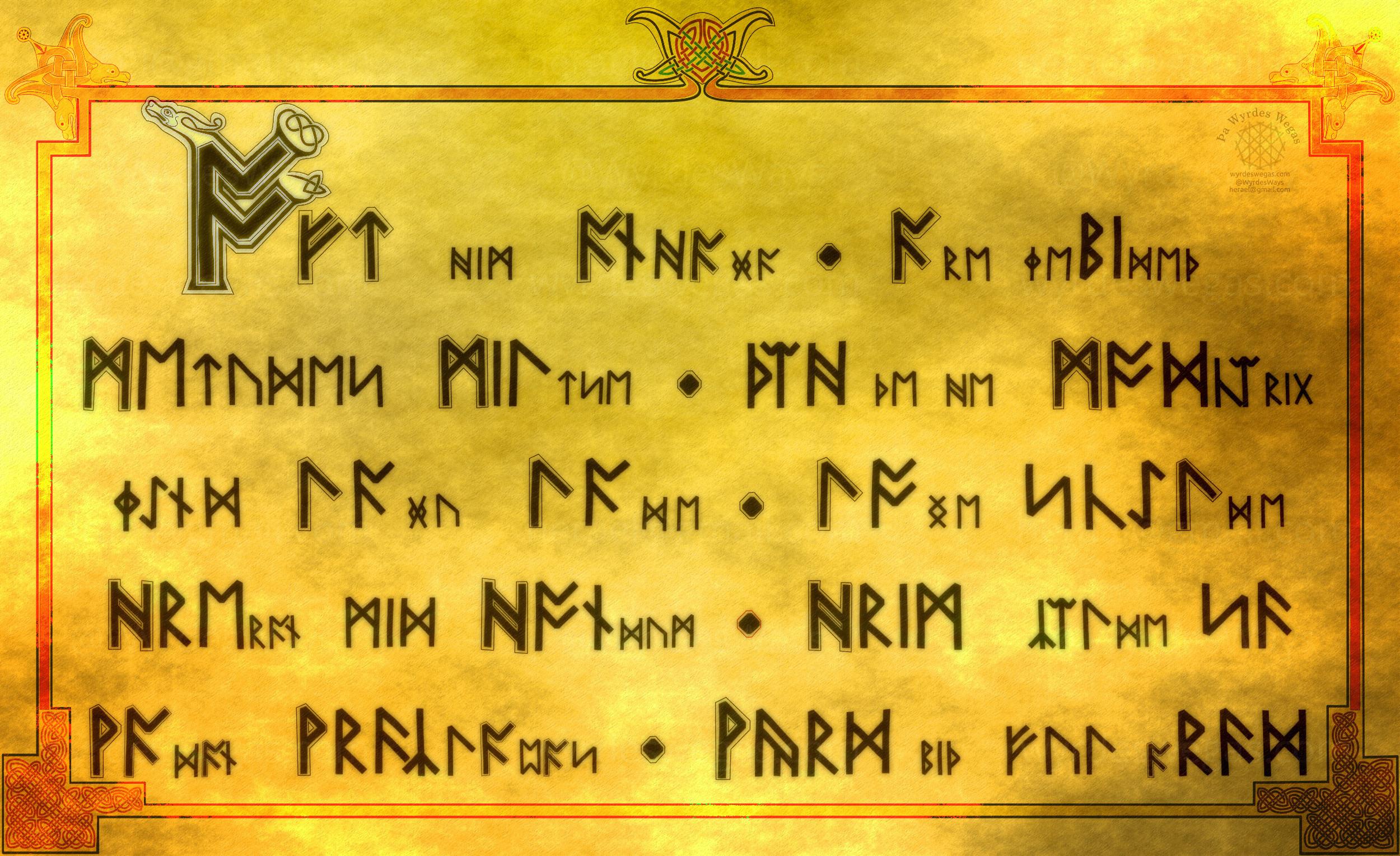 Eardstapa Runes I