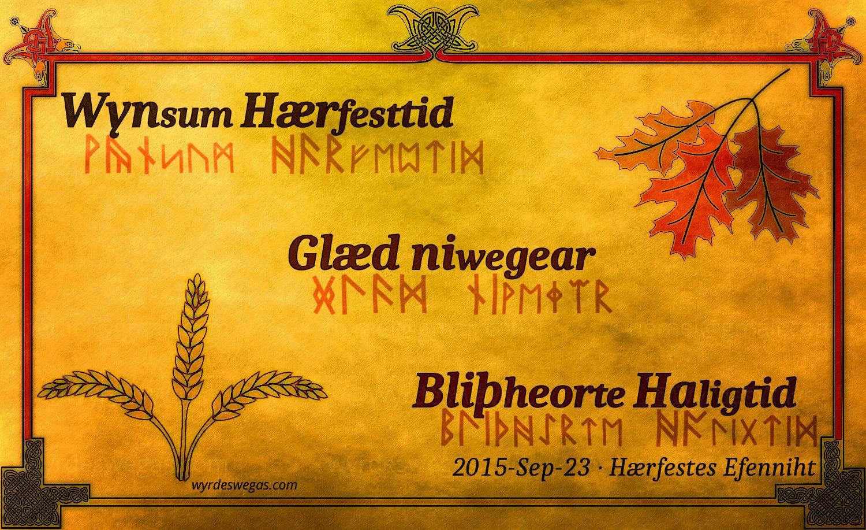Hærfesttid 2015